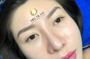Before And After Performing Sculpting Eyebrows 9D For Women 87