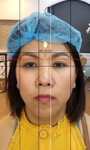 Before And After Processing Old Eyebrows - Sculpting New Fiber Eyebrows 3