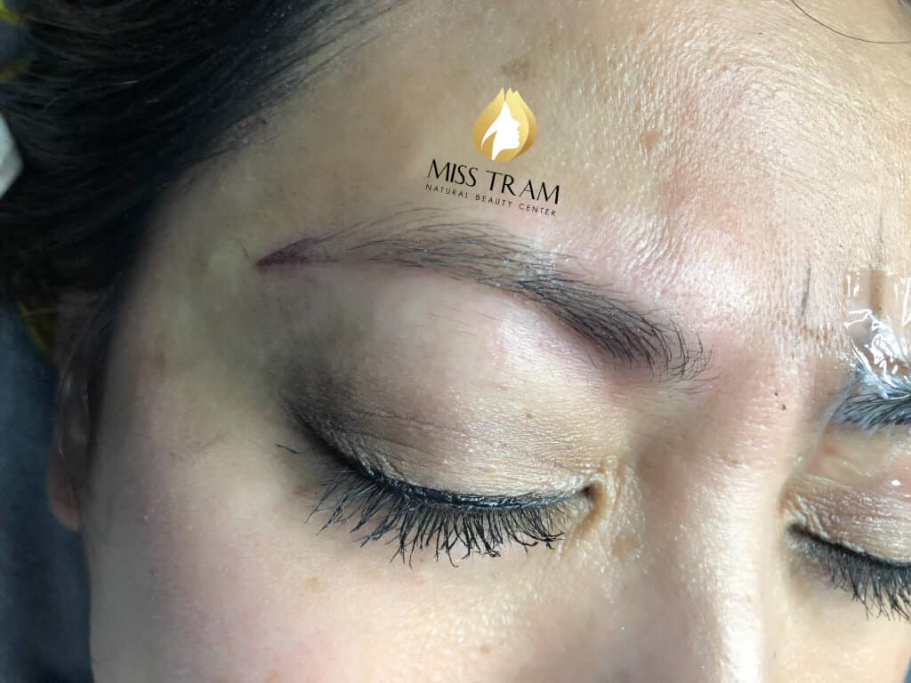 Before and After Beauty Eyebrow With Sculptor Queen 2