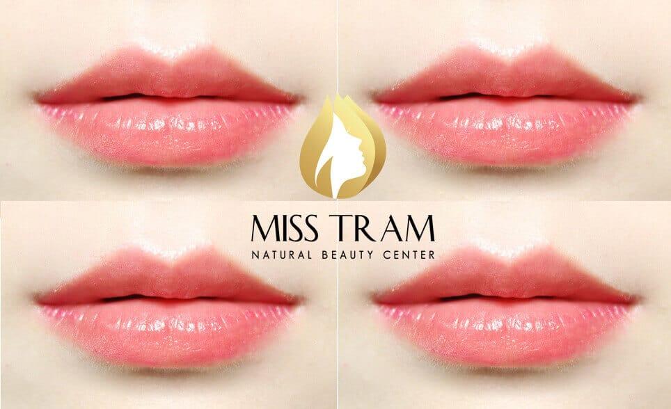 Note when spraying lip collagen