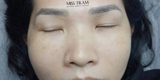 Before and After Results of Sculpting Eyebrow Sculpting for Women 1
