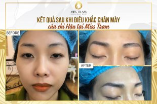 Before And After Sculpting Eyebrows With Natural Fibers For Women 75
