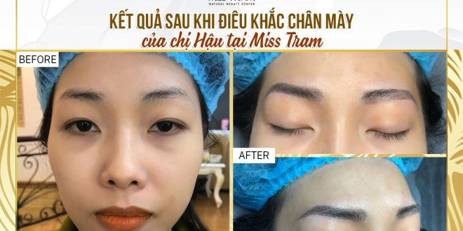 Before And After Sculpting Eyebrows With Natural Fibers For Women 1