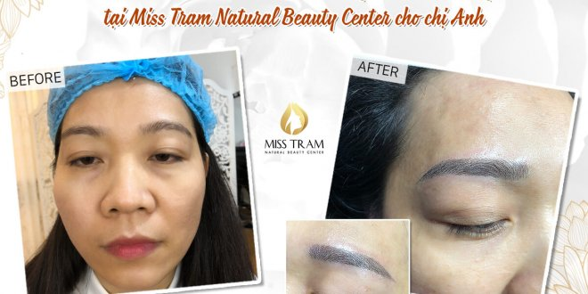 Before and After The Results of Sculpting Natural Eyebrow For Female Guests 1