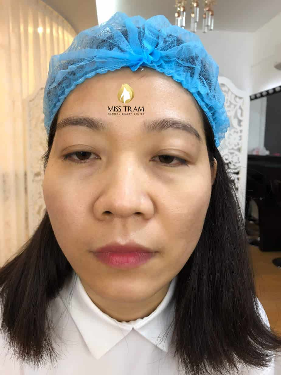Before And After Results Of Sculpting Natural Eyebrow For Female Guests 2