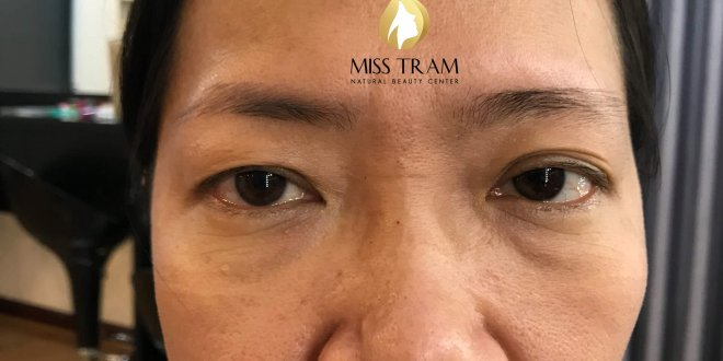 Before and After Sculpting Eyebrows with Natural Fibers 1