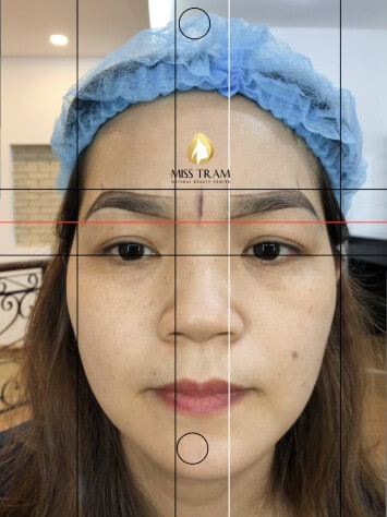 Before and After Sculpture 9D Eyebrow With Queen Ink Extract 100% From Natural Herbal 3