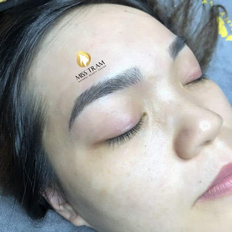 Before And After Sculpting Eyebrow 9D With Queen Ink Extract 100% From Natural Herbal 4