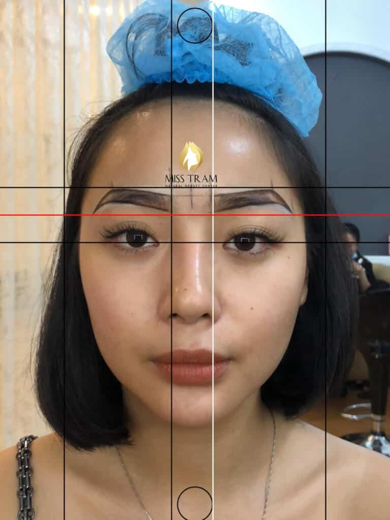 Before And After Processing Red-eyed Boy Sculptor - Sculpture of Thai Lady Ink-Queen 3