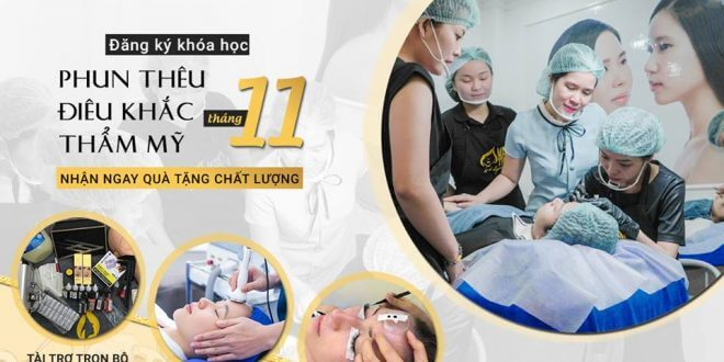 Student Recruitment November 2018: Training Course of Cosmetic Tattooing and Sculpting 1