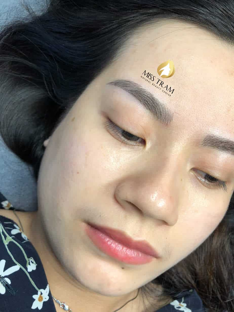 Before and After Beauty Eyebrows by Sculpting Natural Fiber 4