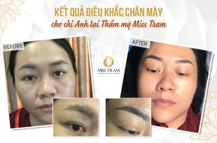Before and After Results of Making Beautiful Eyebrow Sculpture For Women 30