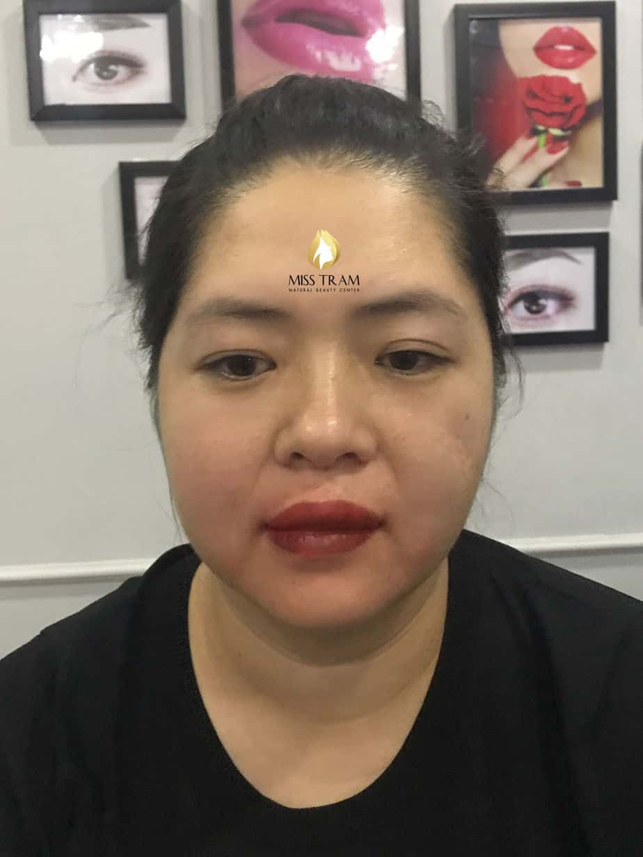 Before And After Handling Old Eyebrows - Sculpting New Eyebrows For Guests 2