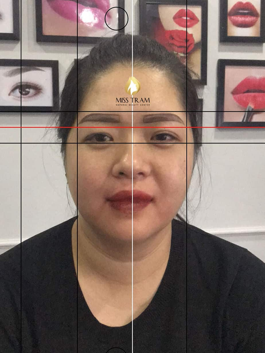 Before And After Handling Old Eyebrows - Sculpting New Eyebrows For Guests 3