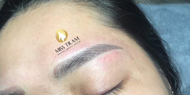 Before And After Handling Old Eyebrows - Sculpting New Eyebrows For Guests 1