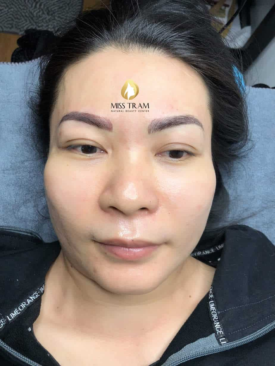 Before and After Sculpting Eyebrows with a Thread Create Beautiful Natural Shapes 5