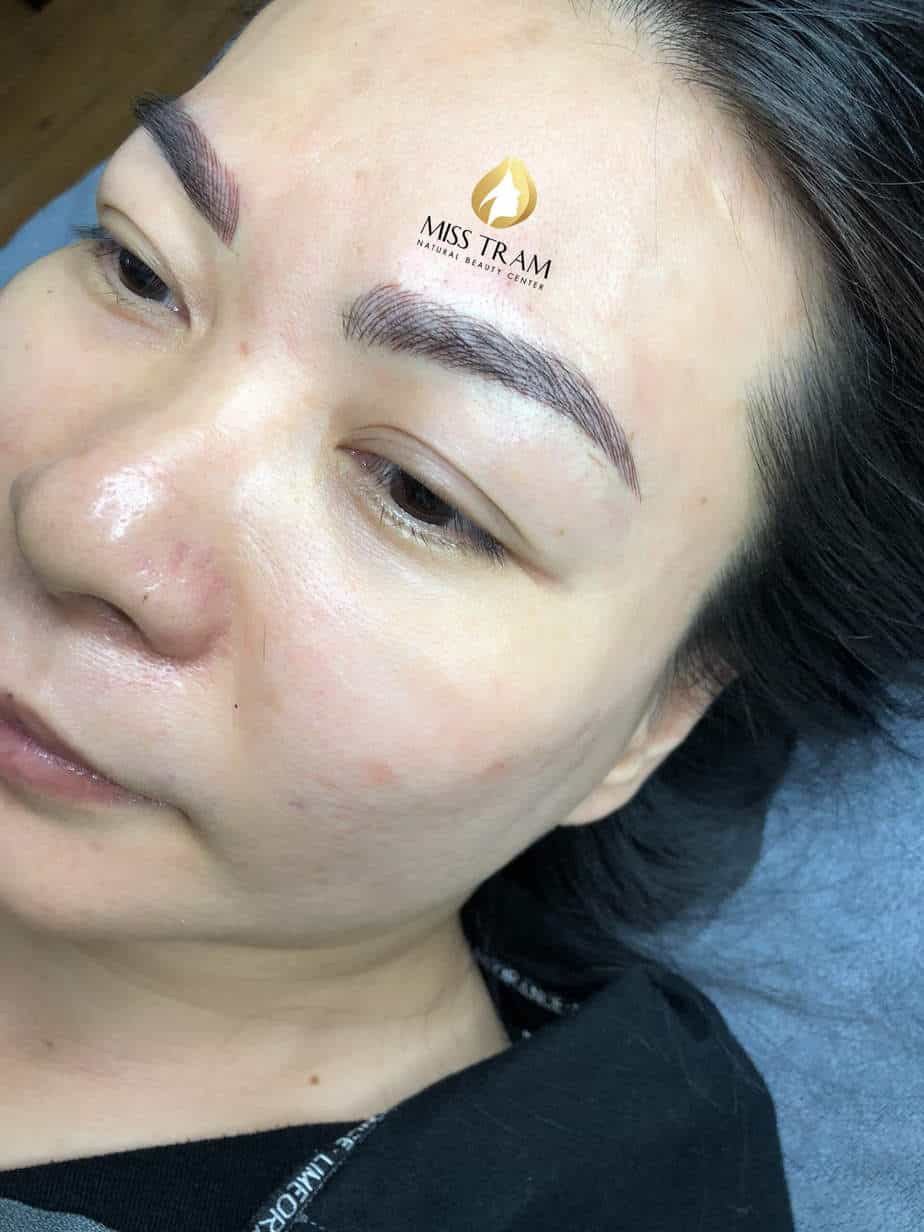 Before and After Sculpting Eyebrows with a Thread Create Beautiful Natural Shapes 6