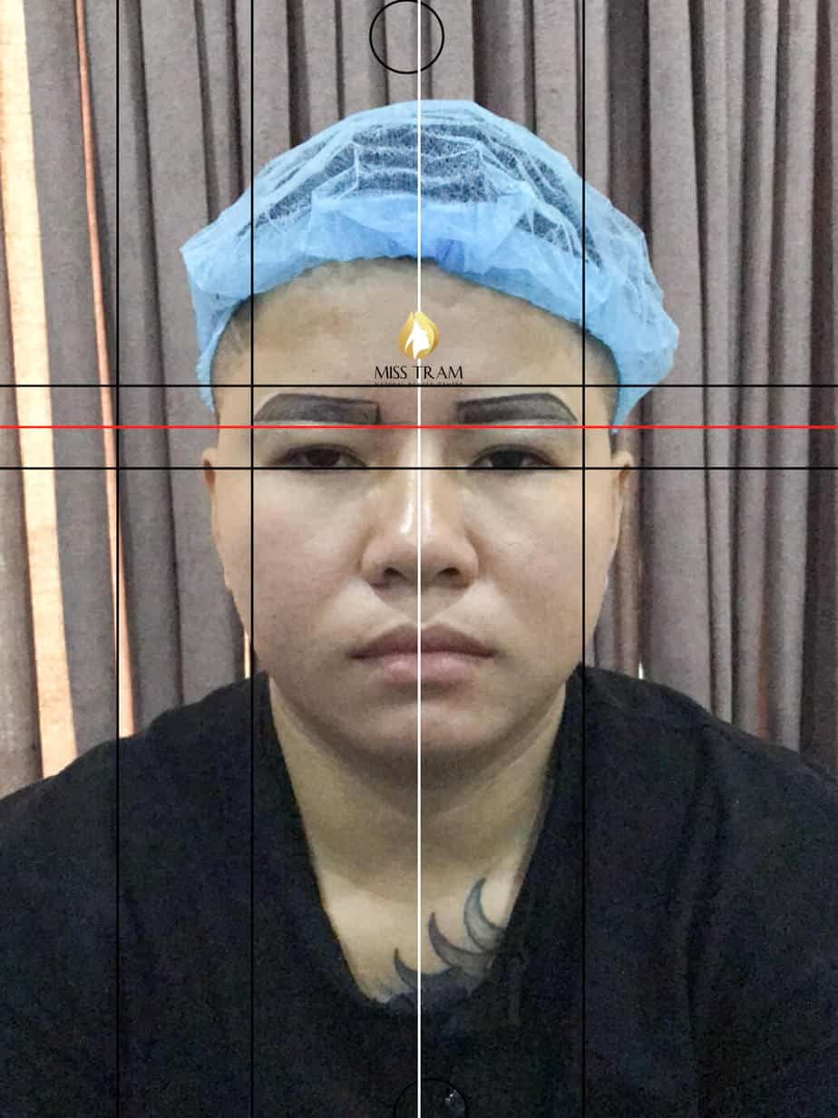 Before and After Beauty Male Eyebrows Using Sculptures 3