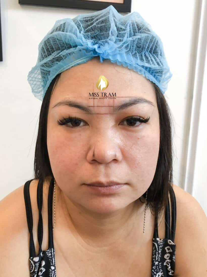 Before and After Sculpting Eyebrows Commemorate Natural Fibers Fix Small Eyebrows 3