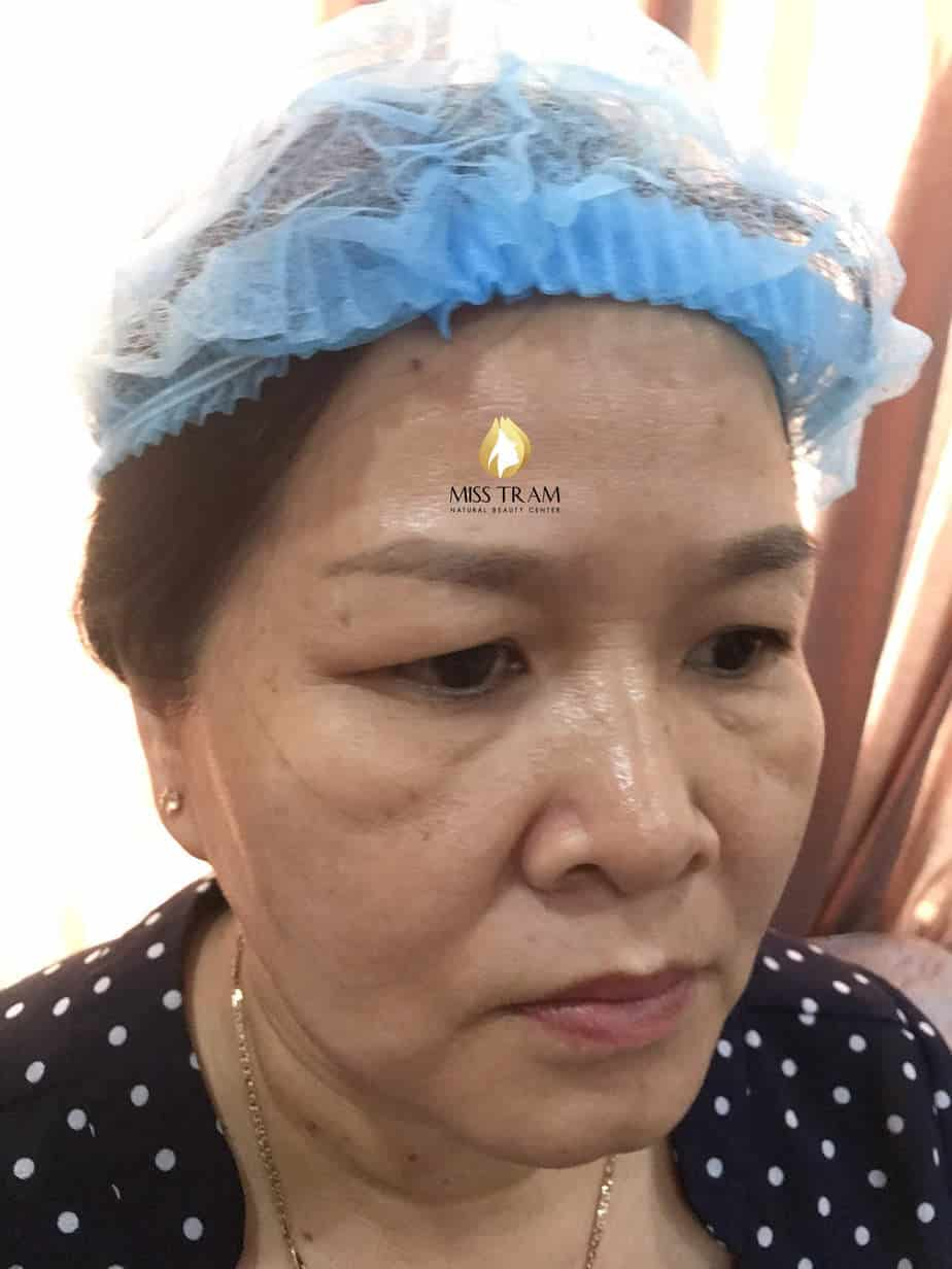 Before and After Treatment And Sculpting Eyebrows with Herbal Extract Ink 3