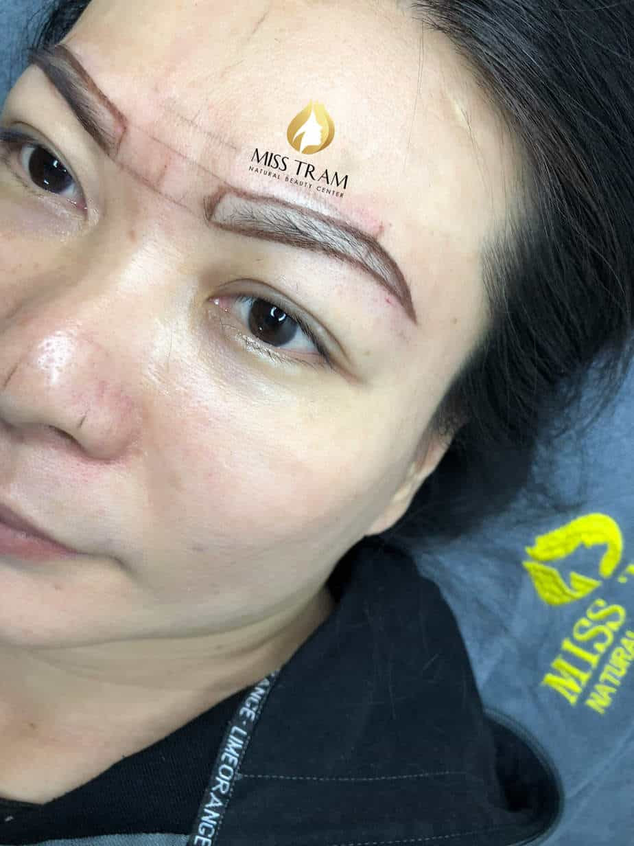 Before and After Sculpting Eyebrows with a Thread Create Beautiful Natural Shapes 4