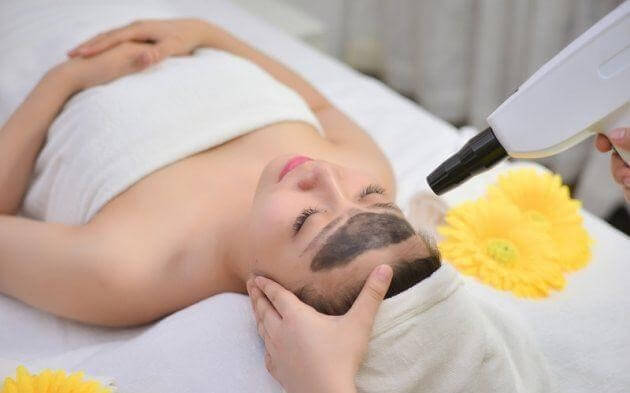 carbon laser detoxification