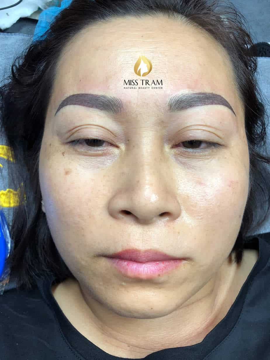 Before And After Treatment - Sculpture Combined Eyebrow Powder Spray 2
