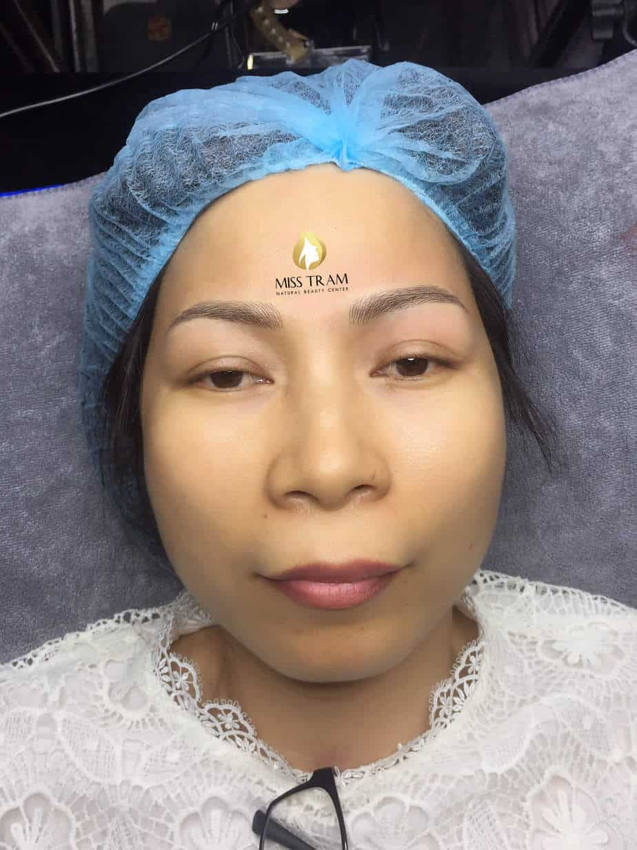 Before And After Result Of Sculpting Eyebrows Scraps Corrective Brow 4