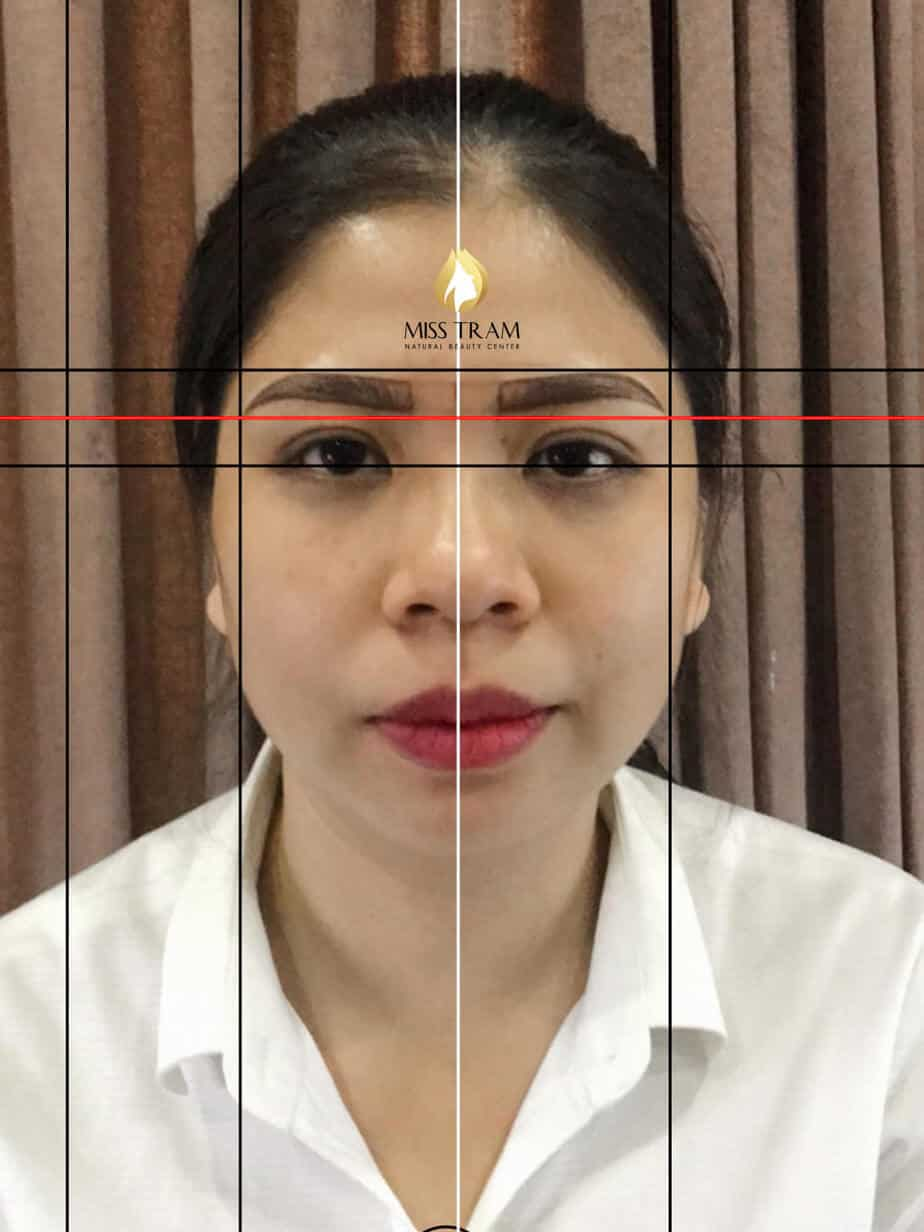 Before and After Results Sculpting Eyebrow Shaping Shaping Beautiful Standard Harmony 3