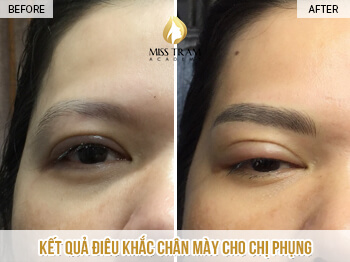 Before and After Results Sculpting Naturally Beautiful Eyebrows for Women 1