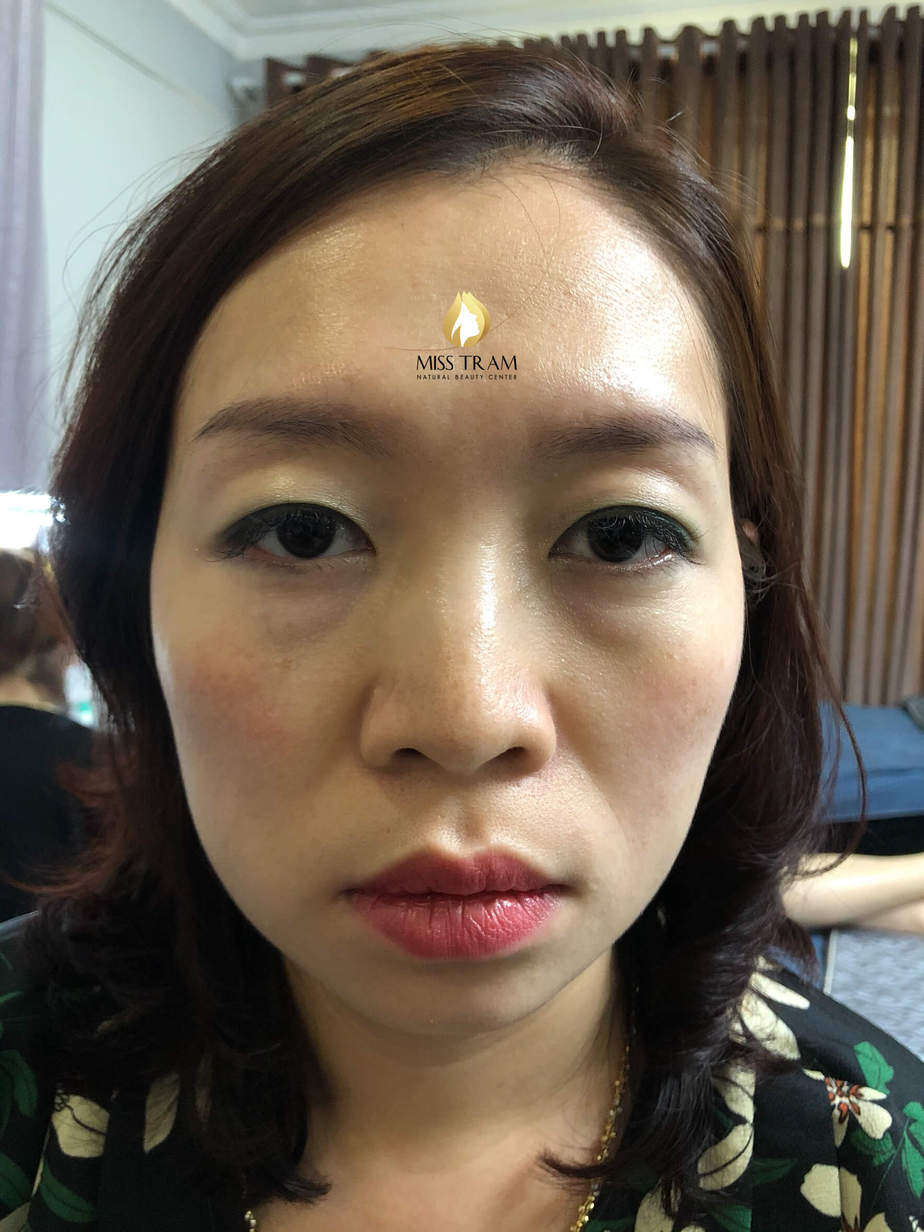Before And After Processing - Sculpting Eyebrows Overcoming Your Old Brow Red 2