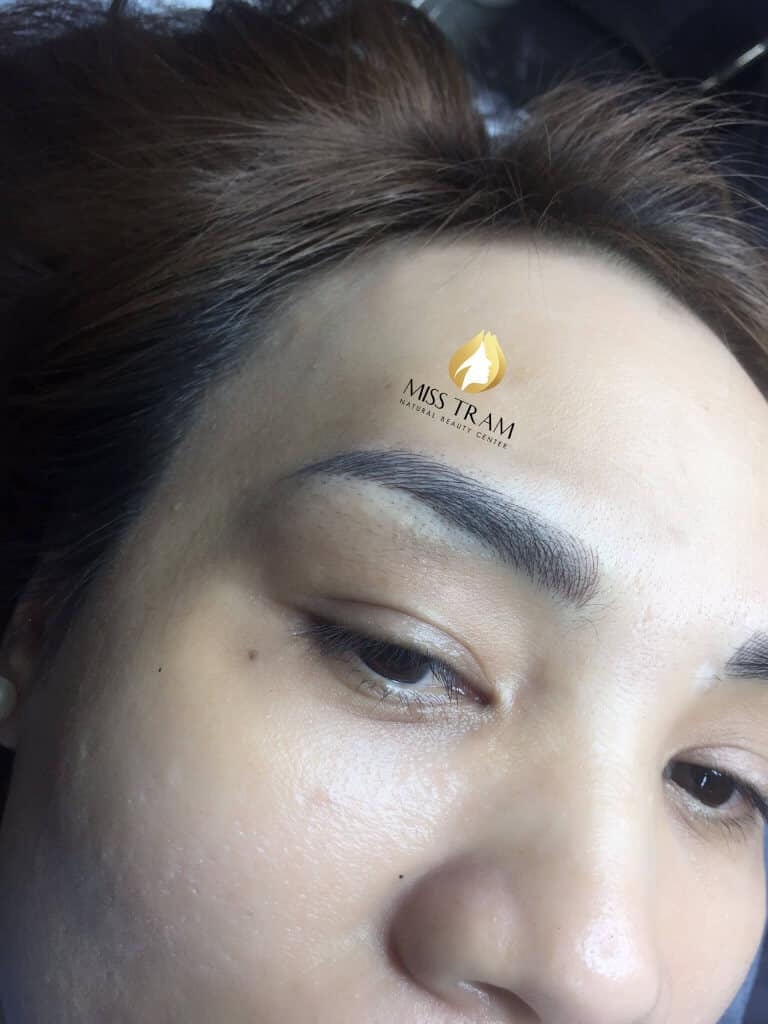 Before And After Sculpting Super Fine, Super Beautiful Eyebrows For Women 3