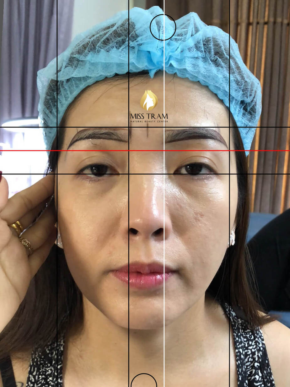Before and After Beauty Eyebrows by Sculpture 3