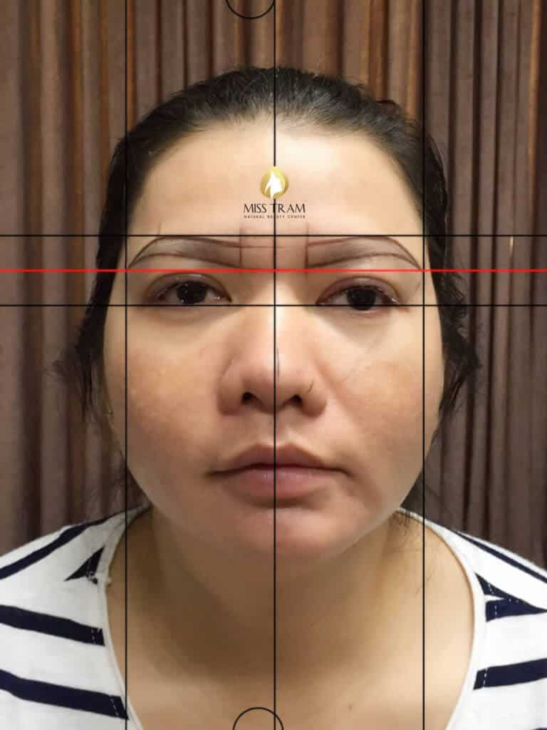 Before and After The Sculpture Results Naturally Beautiful Eyebrows for Women 3