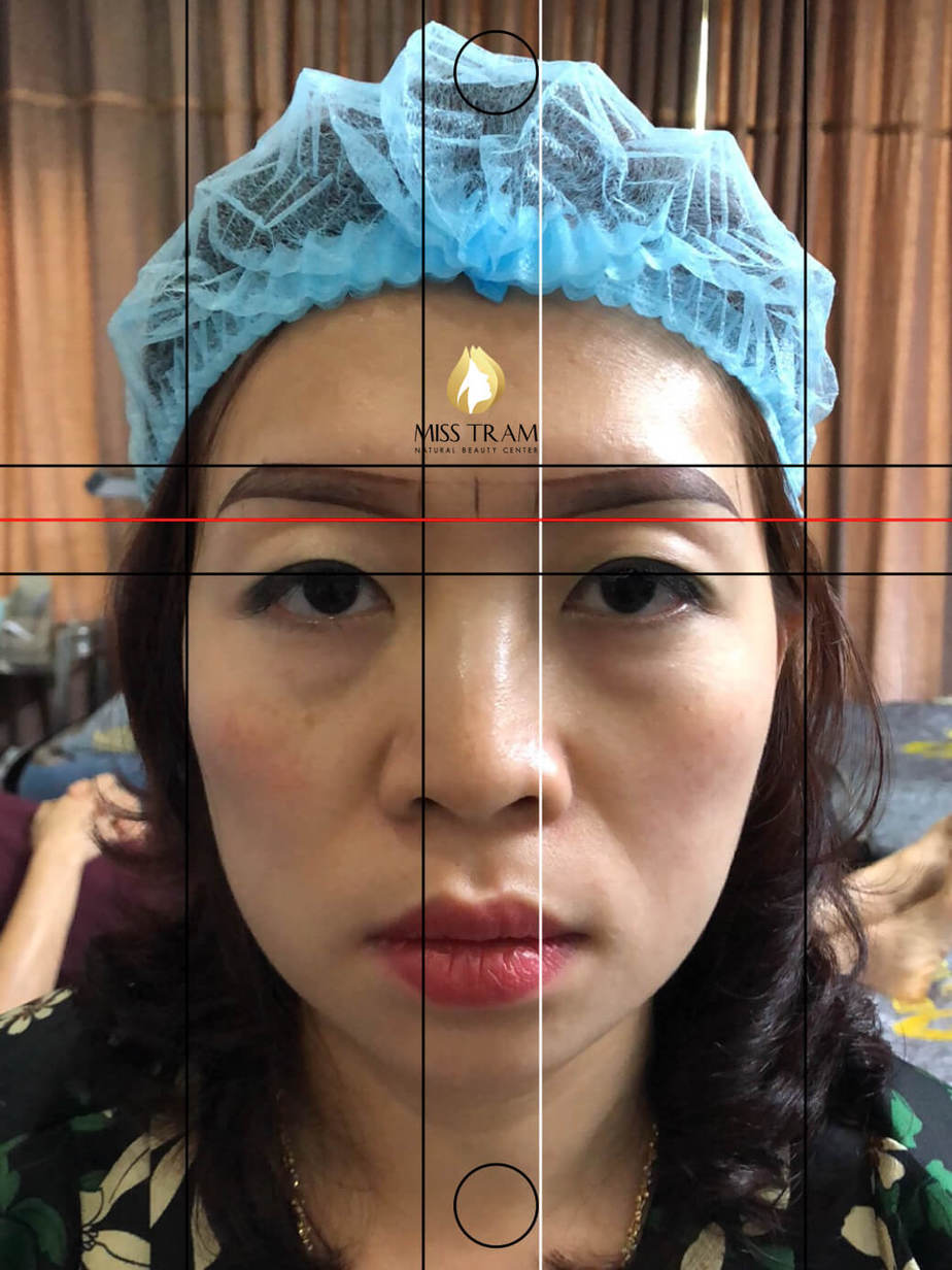 Before And After Processing - Sculpting Your Brow To Fix Your Old Redhead 5