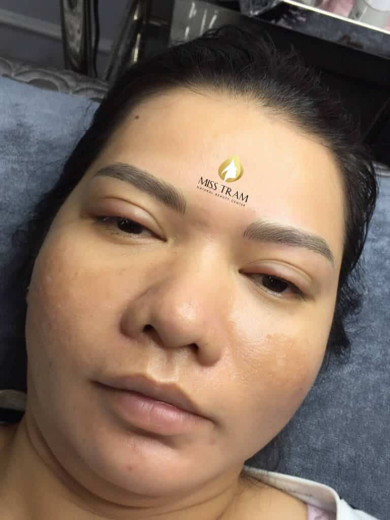 Before and After The Sculpture Results Naturally Beautiful Eyebrows for Women 6