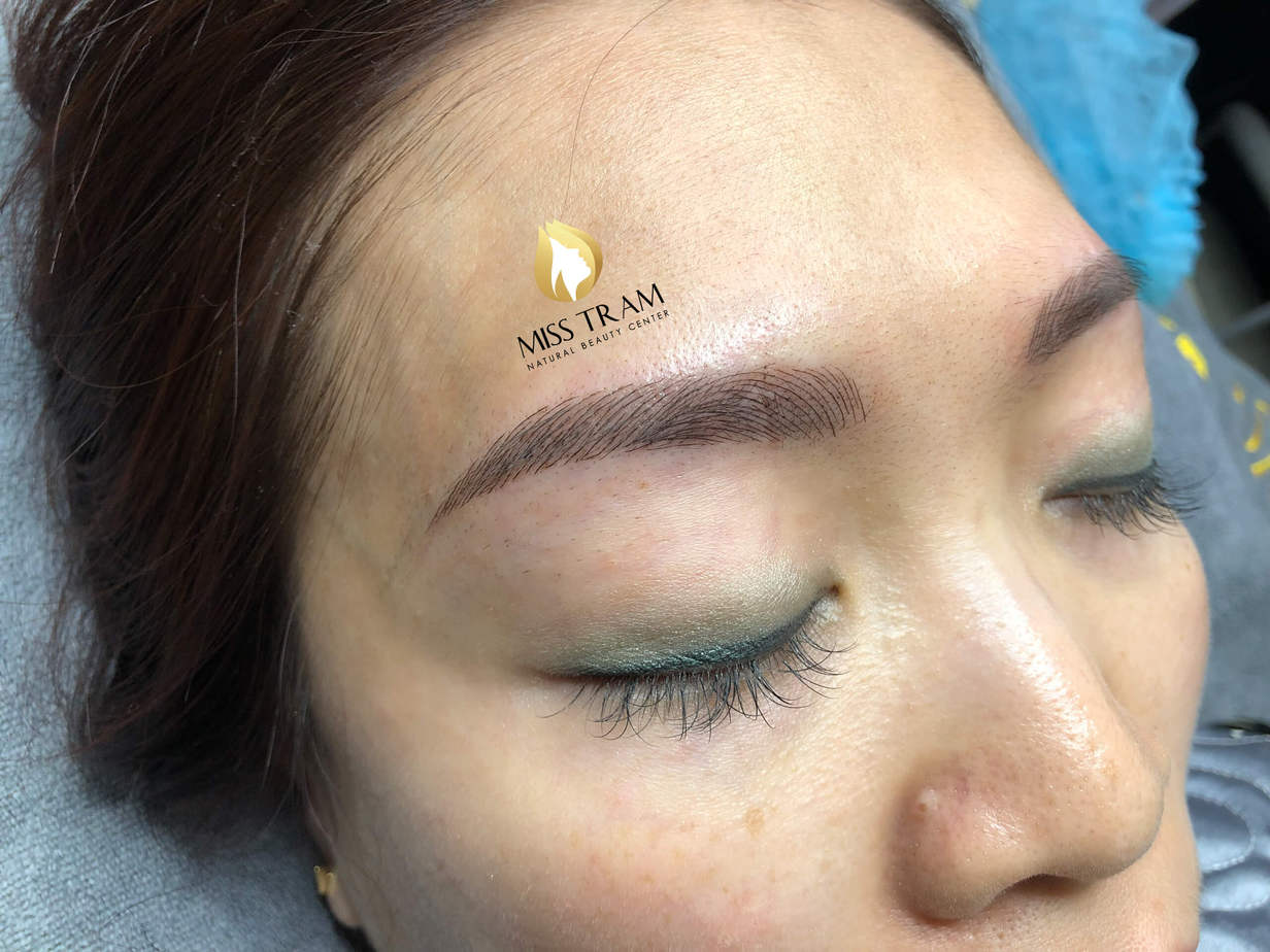 Before And After Processing - Sculpting Your Brow To Fix Your Old Redhead 6