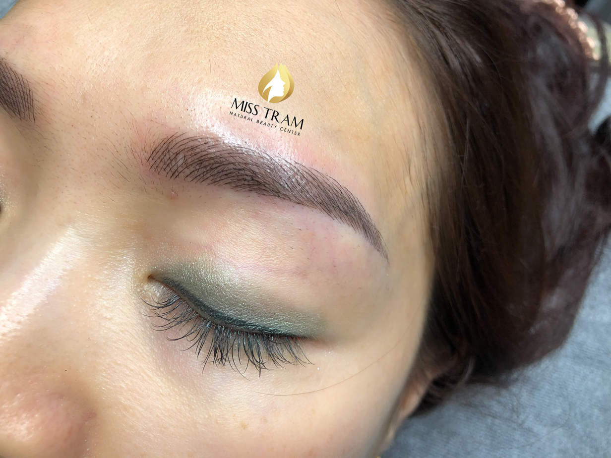 Before And After Processing - Sculpting Your Brow To Fix Your Old Redhead 7