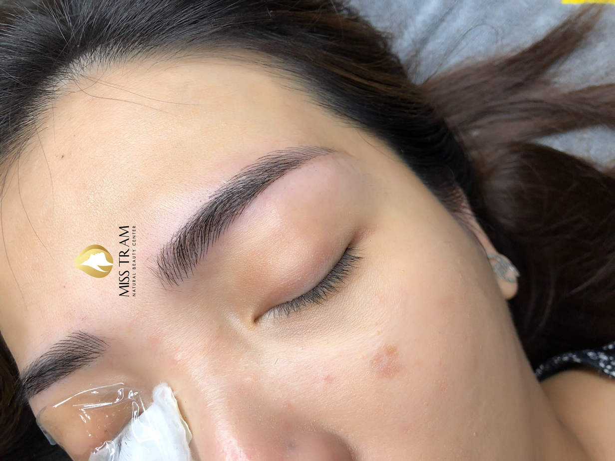 Before and After Beauty Eyebrows by Sculpture 5