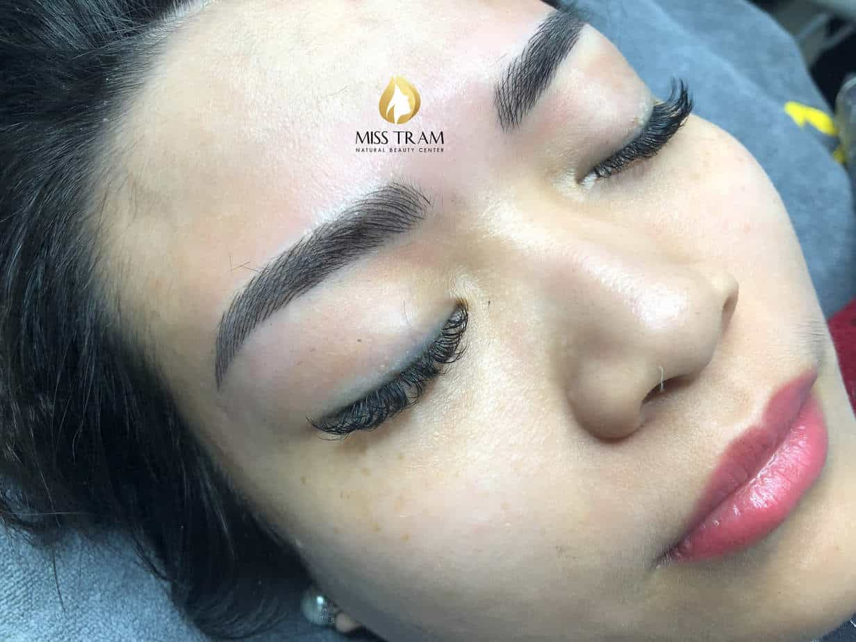 Before And After Restoring The Eyebrow Sculpted For Guests 3
