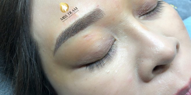 Before and After Results of Beautiful Eyebrow Sculpture 1