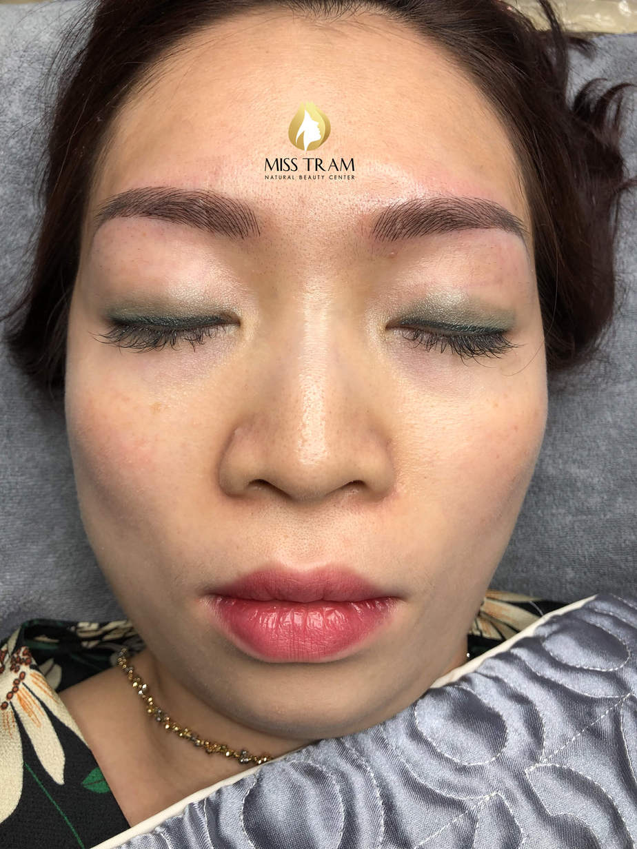 Before And After Processing - Sculpting Your Brow To Fix Your Old Redhead 8