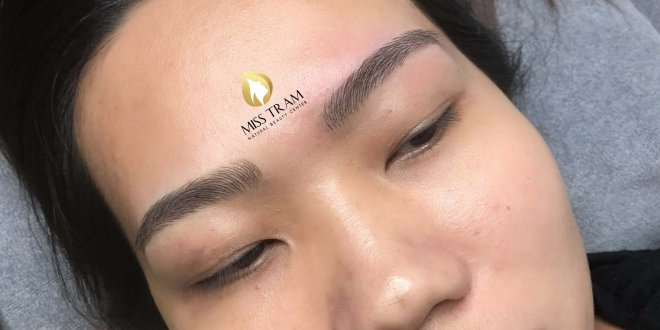 Before And After Shaping - Sculpting Beautiful Eyebrows 1