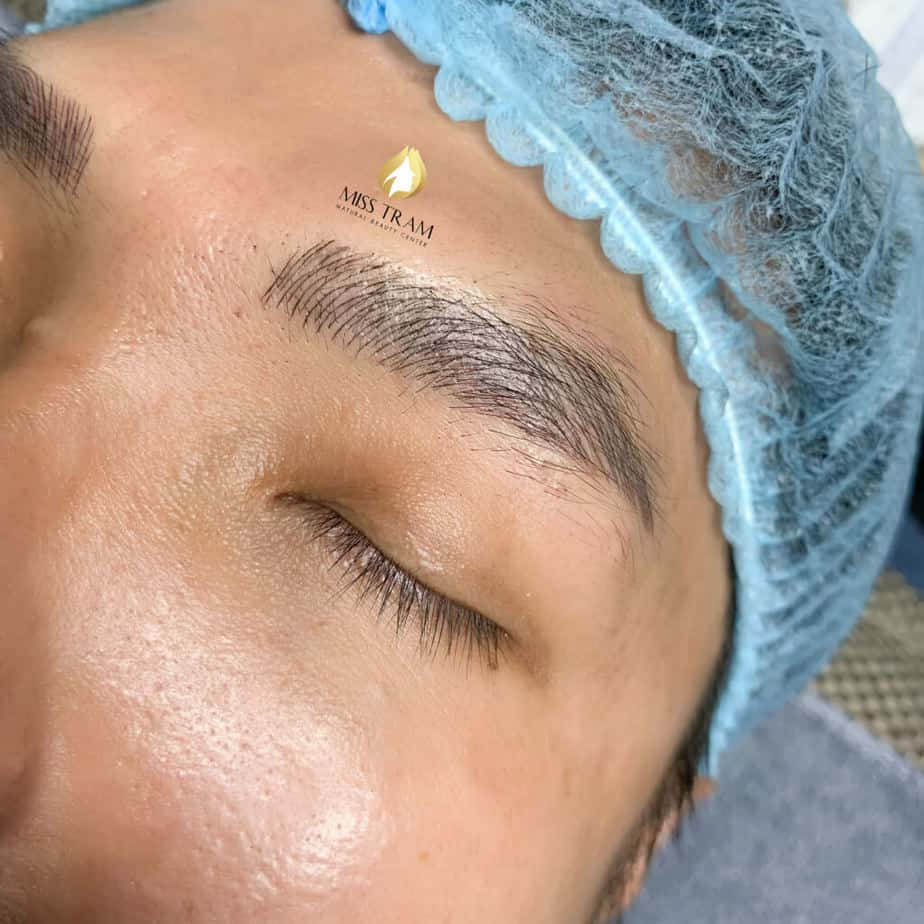 Before And After Sculpture Male Eyebrows Create Standard Male Eyebrows 3