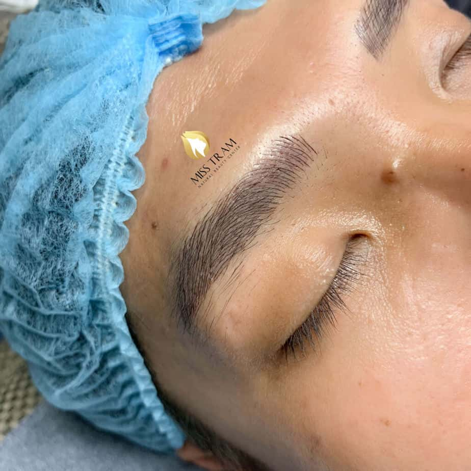 Before And After Sculpture Male Eyebrows Create Male Standard Eyebrow Shapes 4