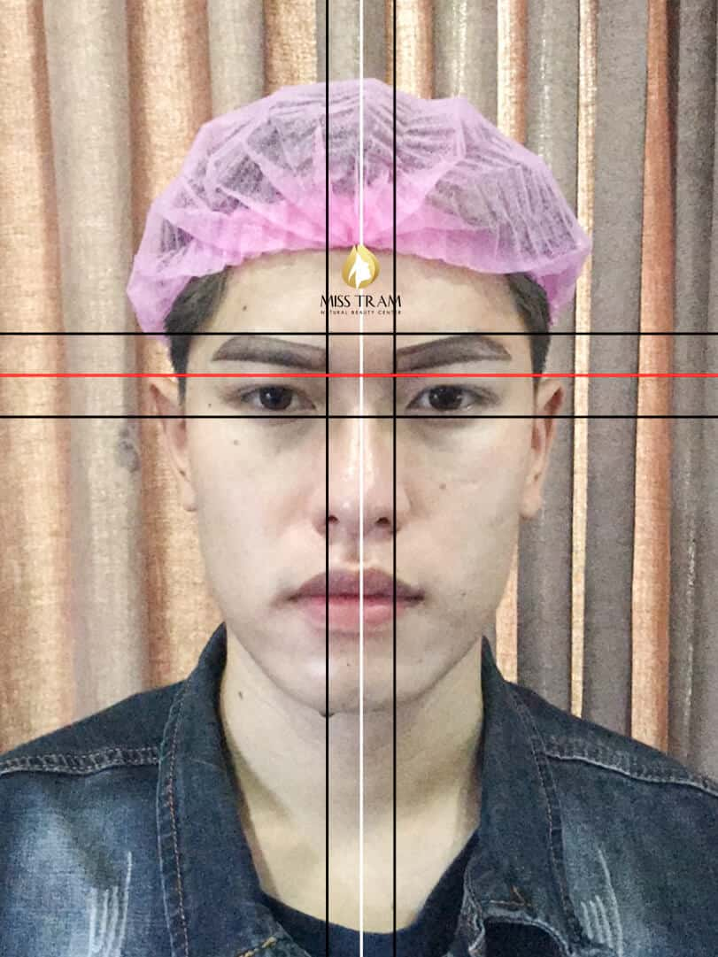 Before And After Shaping Male Eyebrows Using Sculpture Technology 3