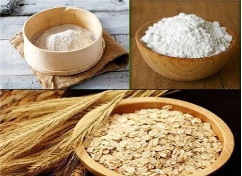cách dưỡng trắng da bằng bột cám gạo