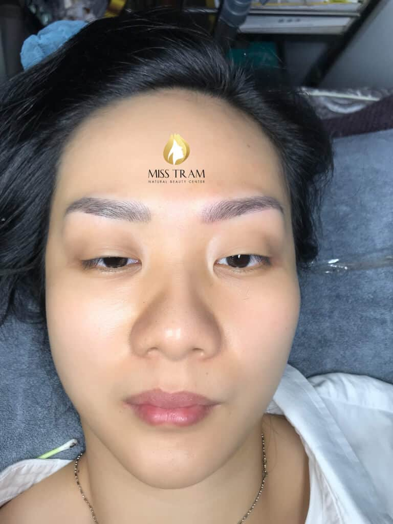 Before and After Super Beauty Eyebrow Sculpture Method For Guests 5