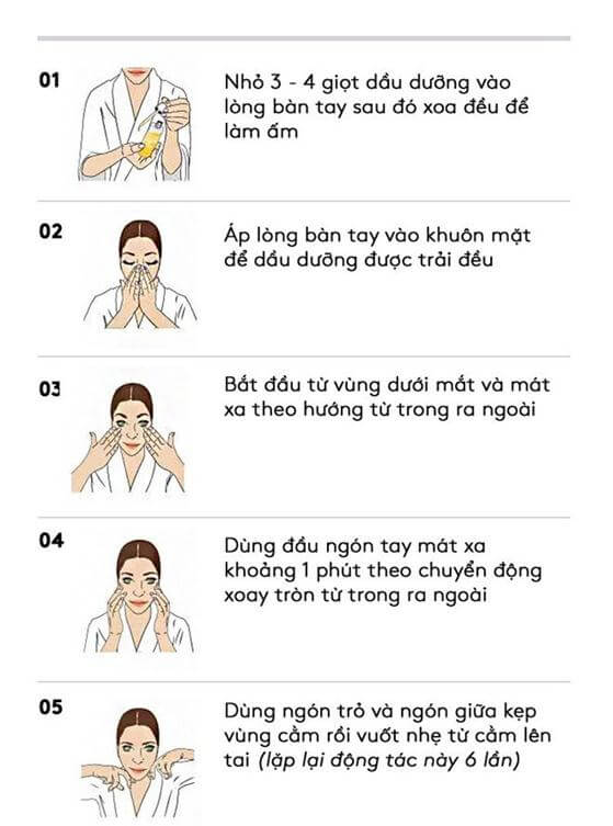 Correct Facial Massage Method for Youthful Skin 3