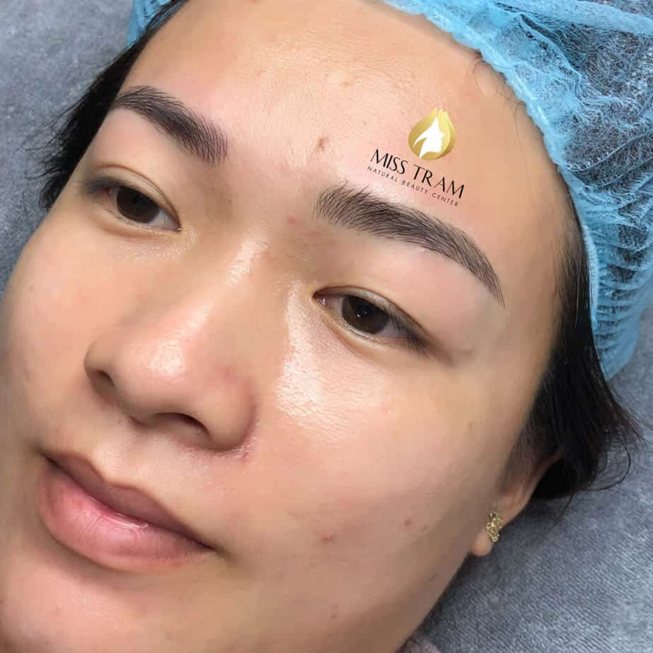 Before And After Results Of Sculpting Queen Eyebrows At Spa 5